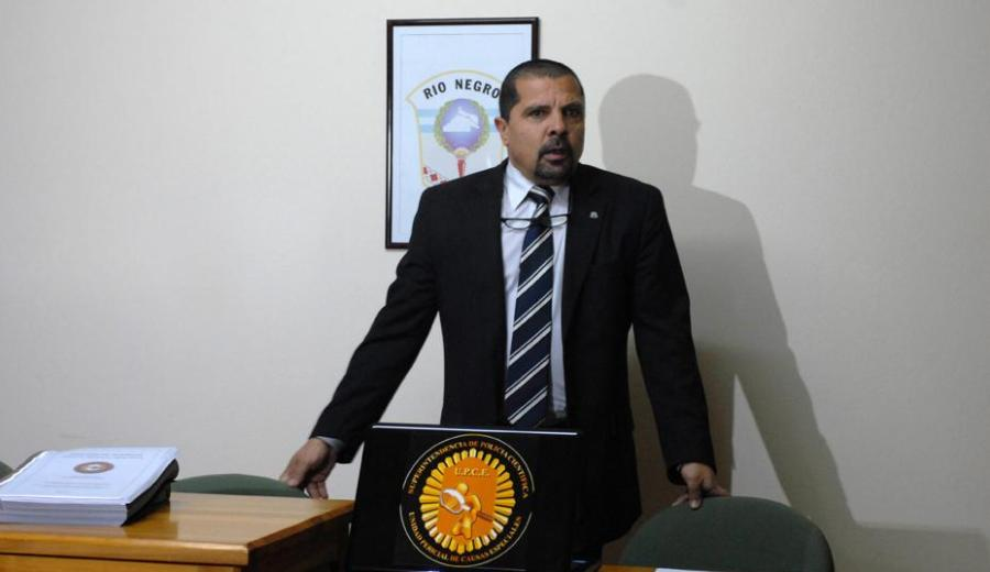 Ricardo Calcagno, juez de Garantías, dio cuatro meses de plazo de investigación. (Archivo)