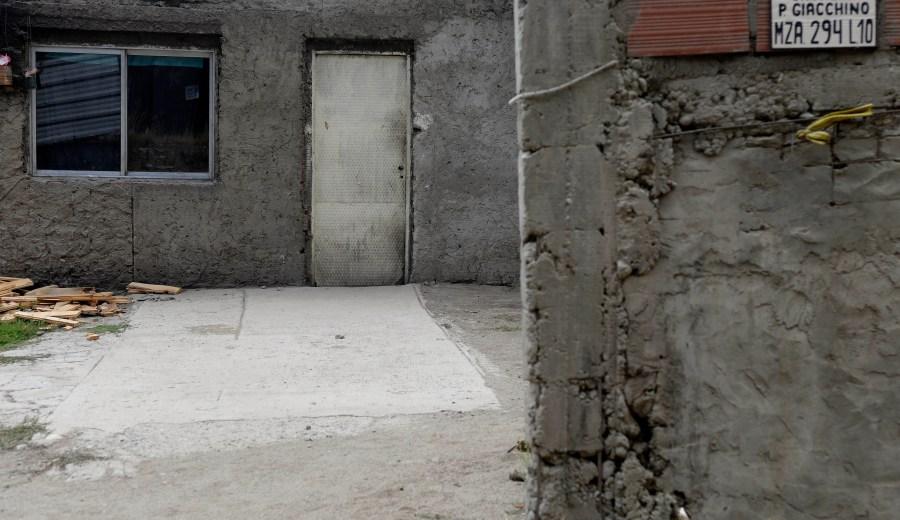 Iris Colivoro fue asesinada de una puñalada en su casa del barrio Nuestras Malvinas. (Foto: Alfredo Leiva)