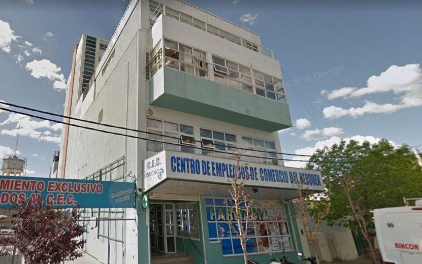El Centro de Empleados de Comercio advierte despidos. (Foto: Captura Google Maps.-)