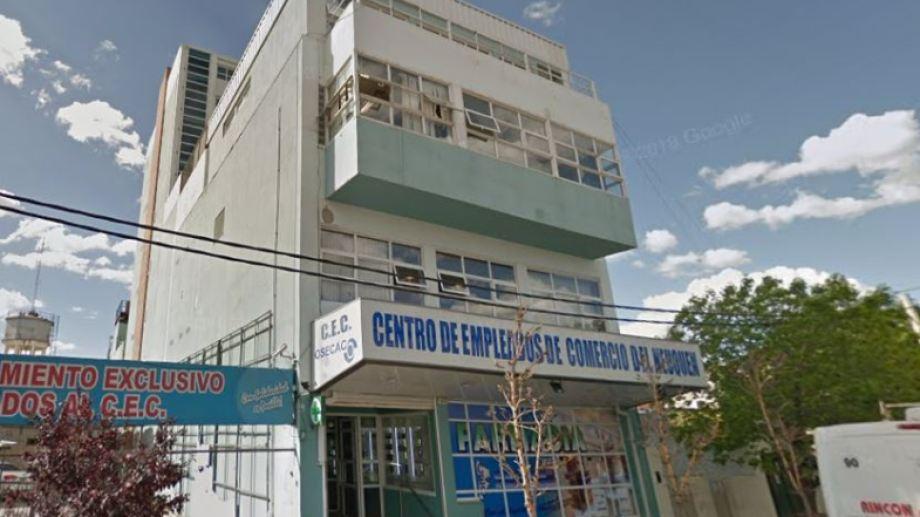 El Centro de Empleados de Comercio ha intervenido en distintas situaciones por coronavirus. (Archivo).-
