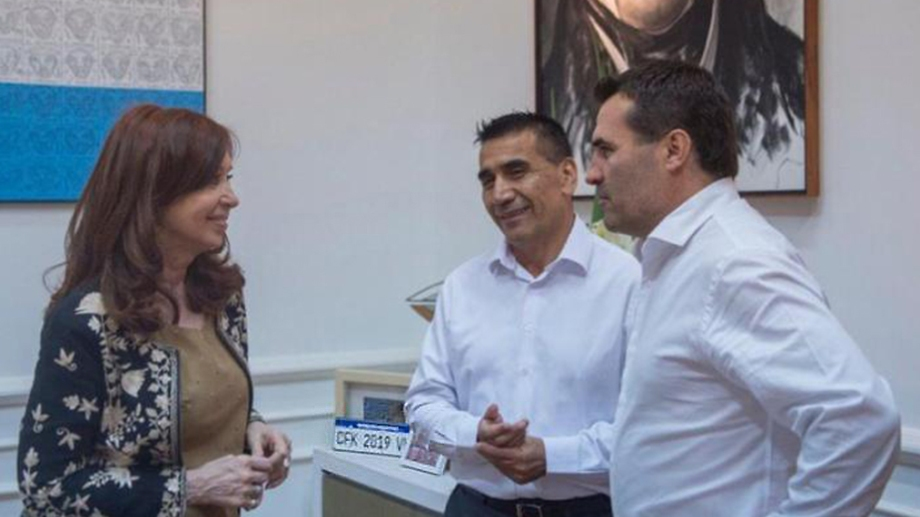 Rioseco y Martínez encabezaron la fórmula de Unidad Ciudadana en las elecciones neuquinas. Foto: archivo