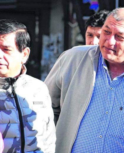 Rubén López y Juan Lescano
