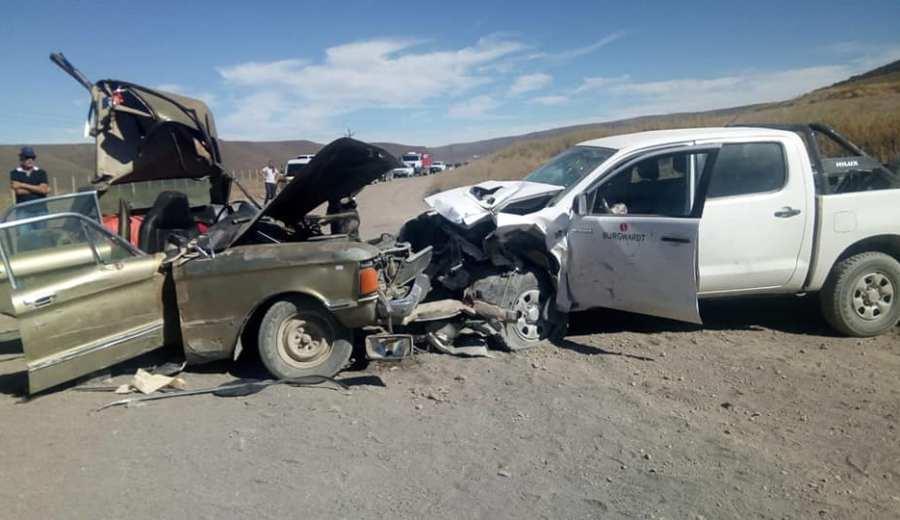 Tristeza sin fin. La brutal colisión que causó dos muertes.  Foto: José Mellado