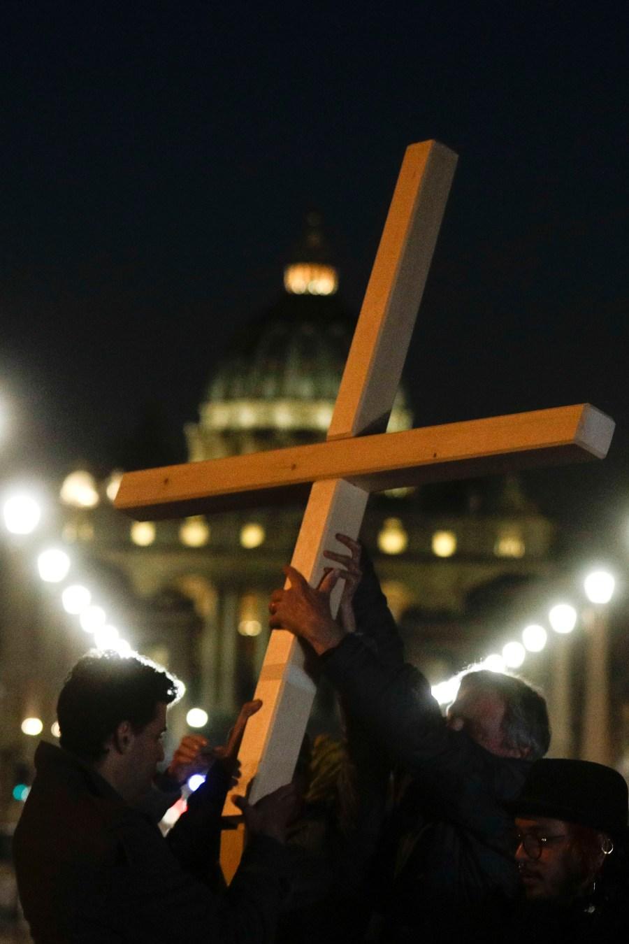 (AP Photo/Gregorio Borgia)