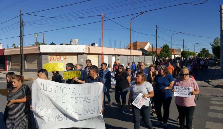 El sábado se realizará una nueva marcha reclamando justicia por el homicidio de la mujer de 80 años. (Archivo Andrea Vázquez).-