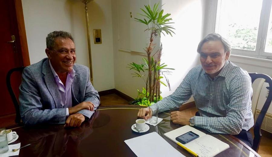 El presidente de CALF se reunió con el secretario de Energía de Nación por el aumento de tarifas.