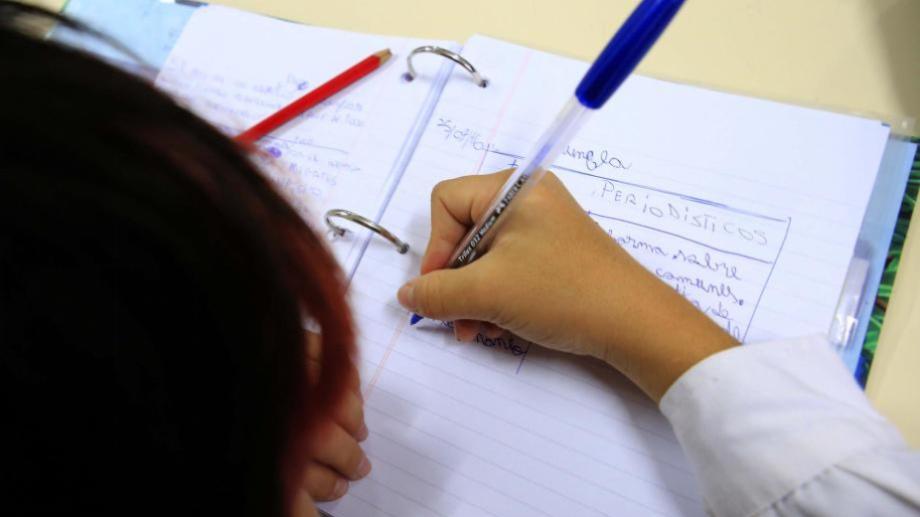 Desde hoy y hasta el viernes se desarrollan las inscripciones para la escuela primaria. (Archivo).-