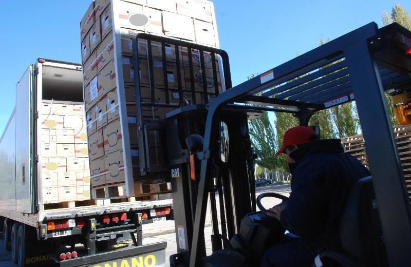 El gobierno brasileño había frenado nueve camiones con fruta de la región. Ahora cerró totalmente el ingreso. Archivo.