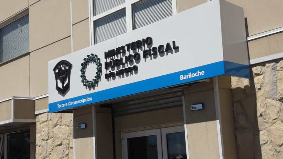 Este fin de semana se desinfectó el edificio del Ministerio Público Fiscal en Bariloche, como parte del protocolo sanitario. (Foto archivo)