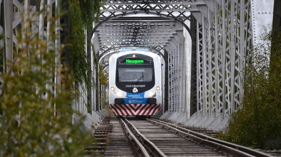 La extensión del Tren del  Valle volvió a la agenda pública. (Foto: archivo)