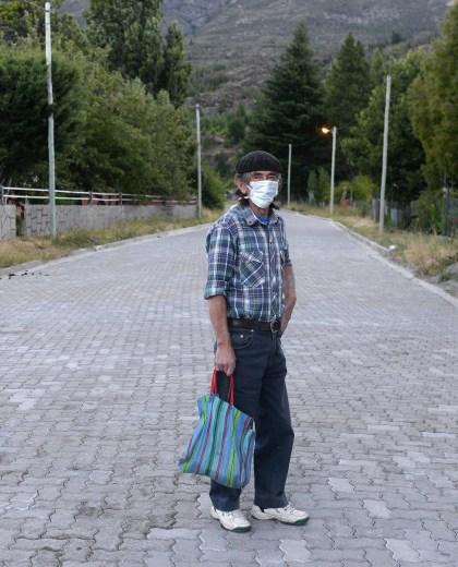 En enero, los pobladores debían salir con barbijos a las calles. (Archivo)