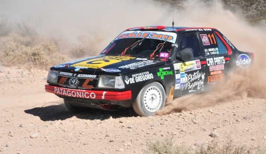 Claudio Simonelli se impuso en la Clase A-7 del Rally Regional. Gentileza.