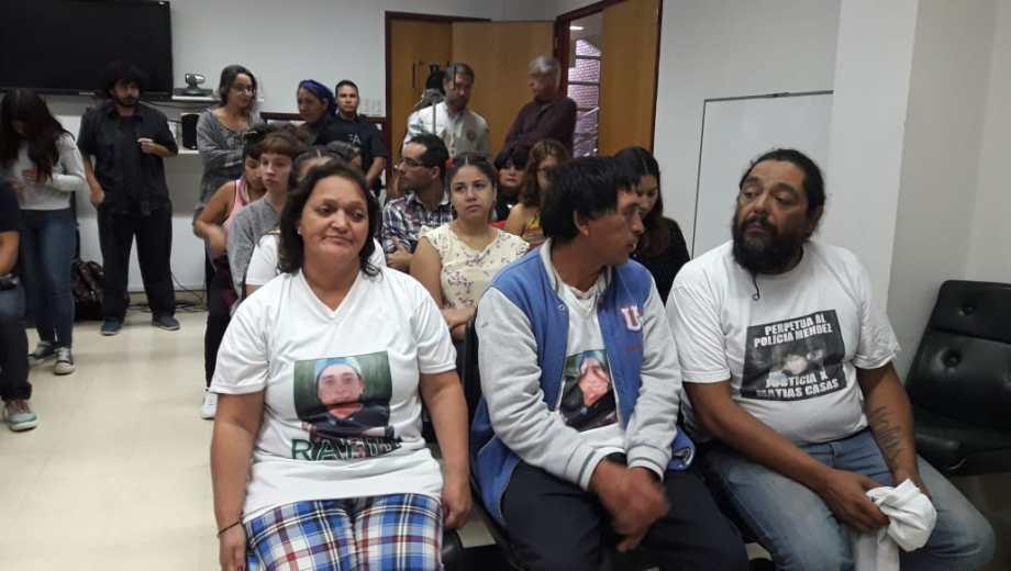 La familia de Nahuel es la única que acusa en la causa porque la fiscalía no presentó recursos. Foto: Archivo