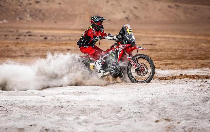 Kevin Benavides terminó quinto en el Dakar 2019.