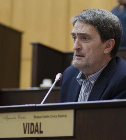 Alejandro Vidal fue uno de los eliminados del padrón de la UCR de Neuquén por postularse para otra lista. (Archivo).-