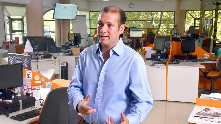 El gobernador de Neuquén se sumó a los repudios al ataque al Diario RÍO NEGRO. (Archivo).-