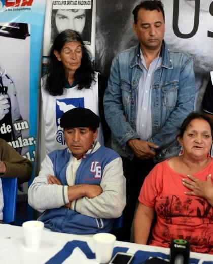 Los padres de Rafael Nahuel denunciarion amenazas durante la última Marcha, hace mas de un mes.