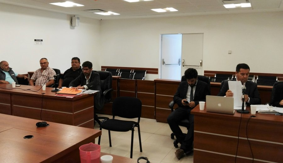 La audiencia judicial. Foto: @OfijuPenalNqn