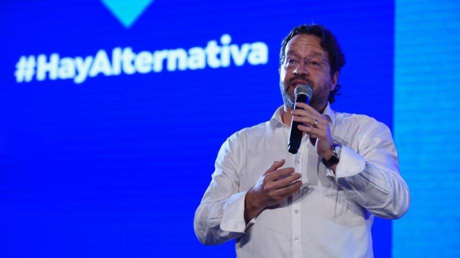 El legislador Marcos Lavagna Foto: Twitter @MarcoLavagna