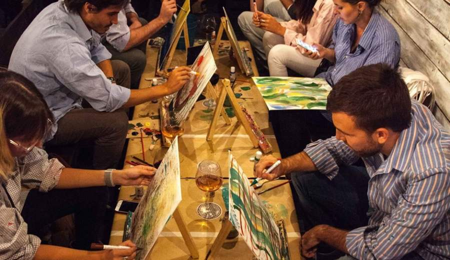 Encuentro De Copas y Brochas edición Buenos Aires