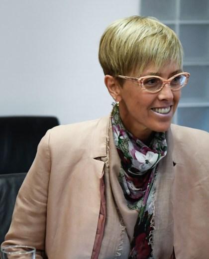 Silvina García Larraburu cumple su último año de gestión en el Senado. (Gentileza)