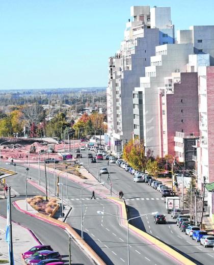 Neuquén capital concentra el 40% de los habitantes del territorio.
