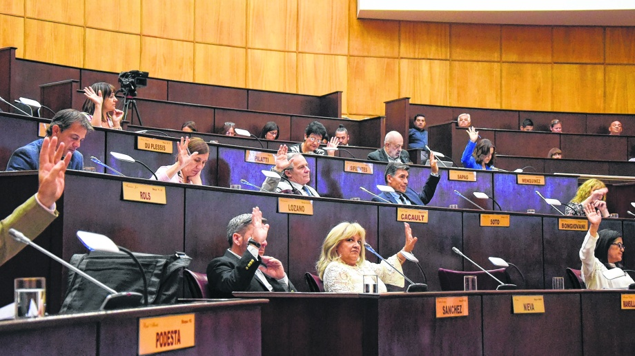 El MPN argumentó que no se trata de un préstamo. Los fondos los tomará Nación. Foto: archivo