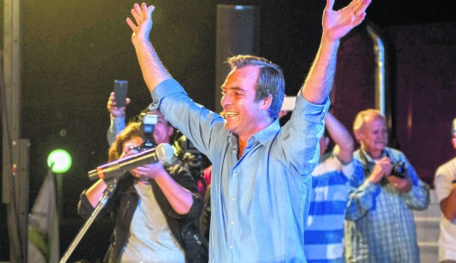 Soria realizó un acto en Allen el viernes. (Archivo)