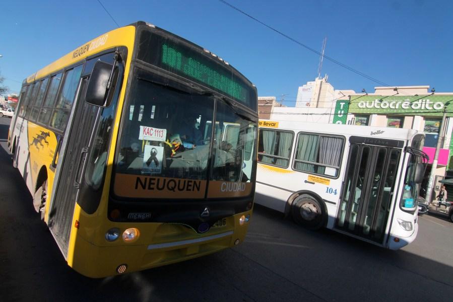 El servicio de transporte urbano de la ciudad.  Foto: Archivo Oscar Livera