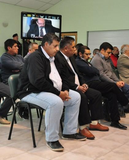 Esta mañana se leyó la sentencia del caso Pelozo Iturri con la sala colmada. (Juan José Thomes).-