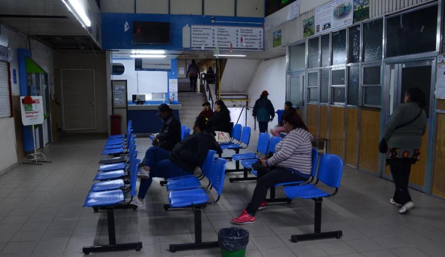 Los profesionales de la Salud realizan paro por 24 horas en los consultorios externos del sistema público. (Mauro Pérez).-