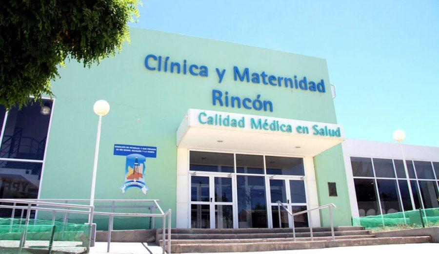 El trabajador llegó a la clínica de Rincón de los Sauces aparentemente sin signos vitales.
