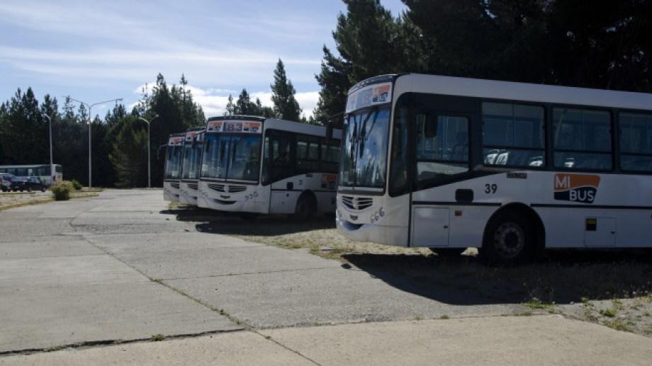 Los trabajadores de la empresa Amancay (Mi Bus) habían iniciado el viernes pasado el paro. (foto archivo)
