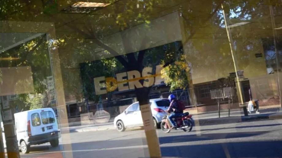Las sucursales de Edersa se encuentran cerradas, por el aislamiento preventivo. Foto: archivo.-