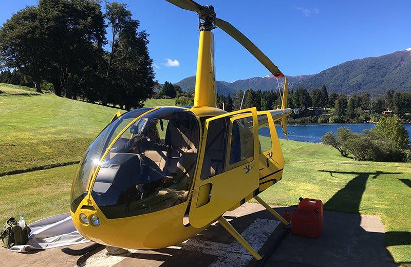 La empresa helitronador operaba los vuelos turísticos desde enero.(Imagen de la compañía)