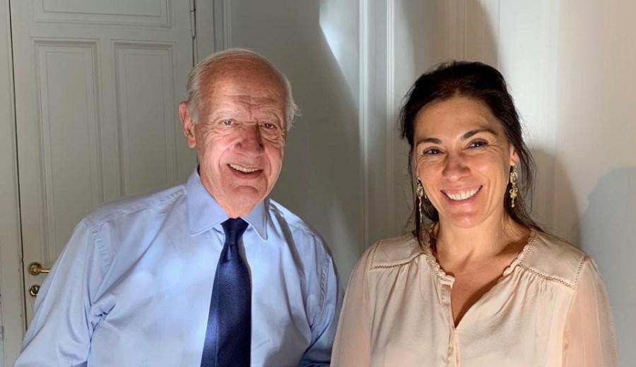 Lavagna y Crexell.  Foto: Gentileza