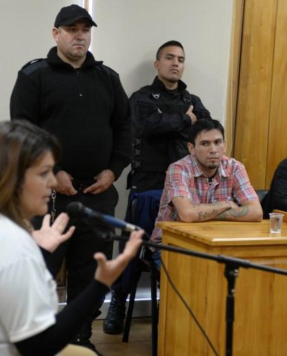El juicio se desarrolló con un celoso operativo de seguridad. (Alfredo Leiva)