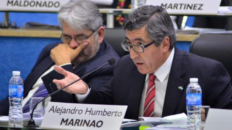El sierrense Alejandro Marinao (FdT) transita su tercer mandato consecutivo en la legislatura provincial. (foto: archivo).