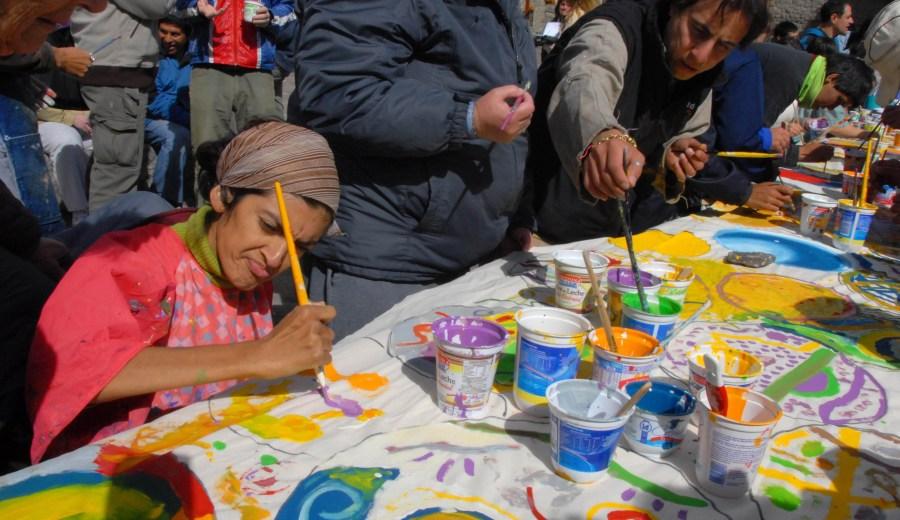 Cre-Arte alberga a 80 personas con discapacidad en diversos talleres culturales. (Archivo)