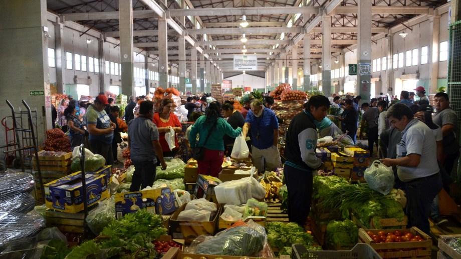 El mercado concentrador de Neuquén es el más grande de la Patagonia. Foto: Archivo Matías Subat