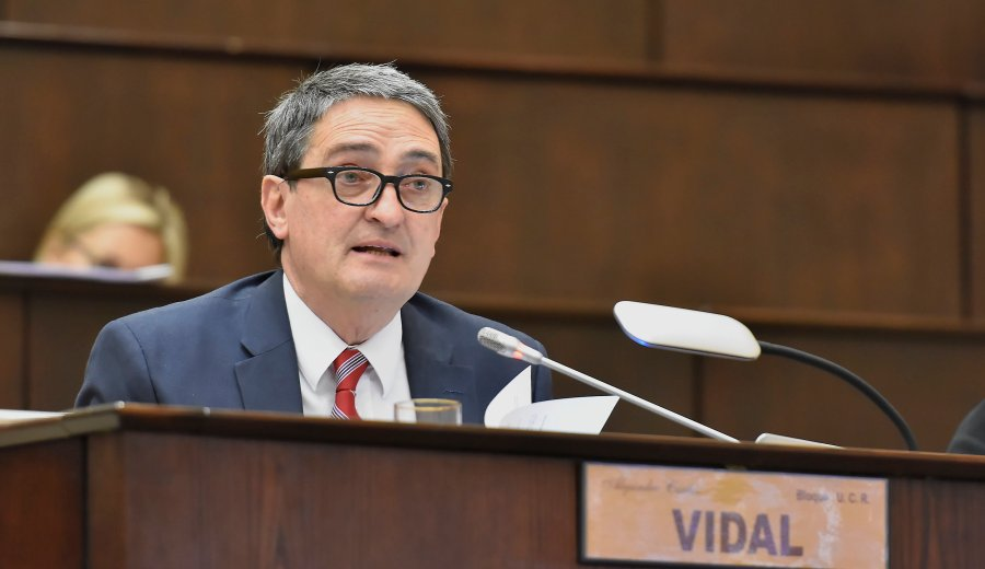 El diputado provincial Alejandro Vidal Foto: Archivo