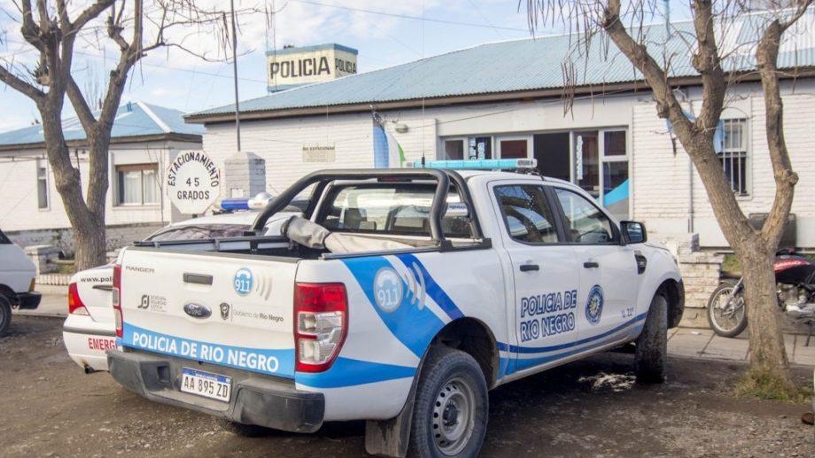 Personal de la Comisaría 21 intervino en el procedimiento que se realizó el lunes en la zona norte.