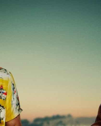 Brad Pitt y Leo Di Caprio en la nueva película de Tarantino.