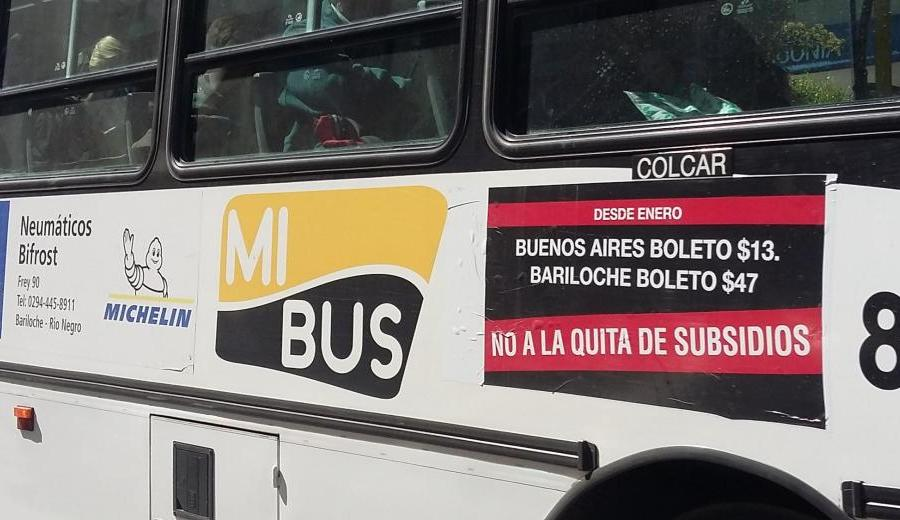 """La Multisectorial denunció que el cambio de recorridos de los colectivos """"sólo prioriza reducir costos y no es en beneficio de los usuarios"""". Foto: archivo"""