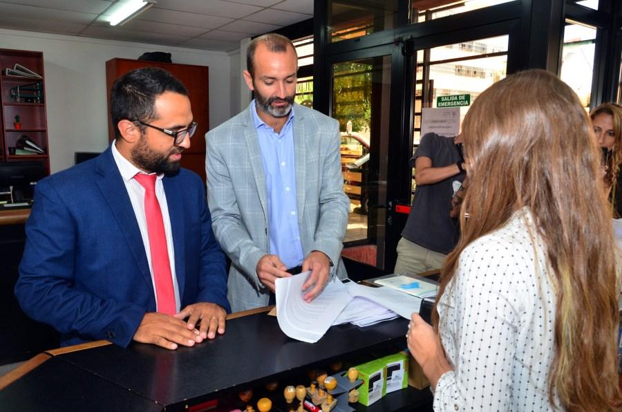 En febrero, JSRN presentó documentacion en el Tribunal Electoral. Foto archivo Marcelo Ochoa.