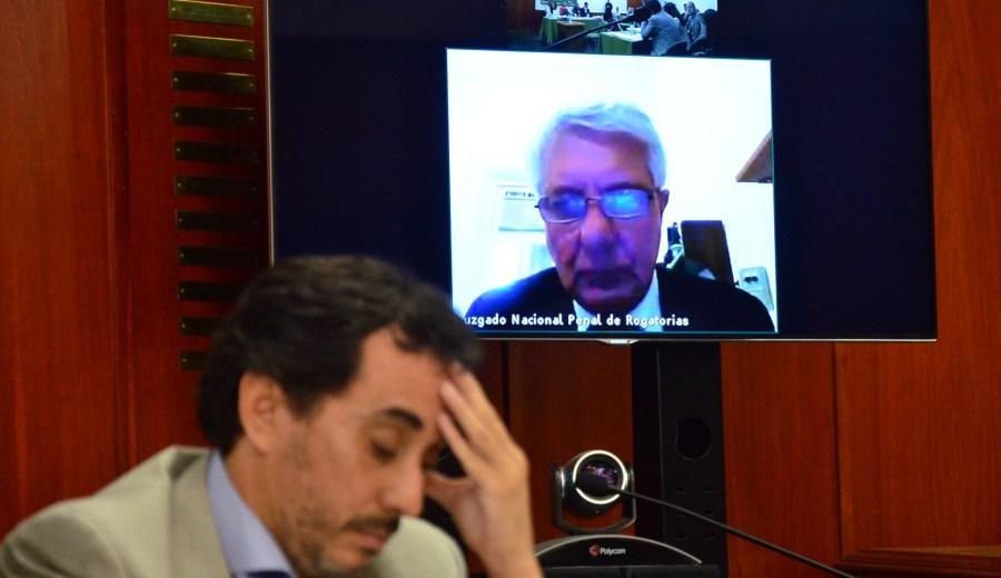 Corach brindó su testimonio desde Buenos Aires. Foto: Marcelo Ochoa.
