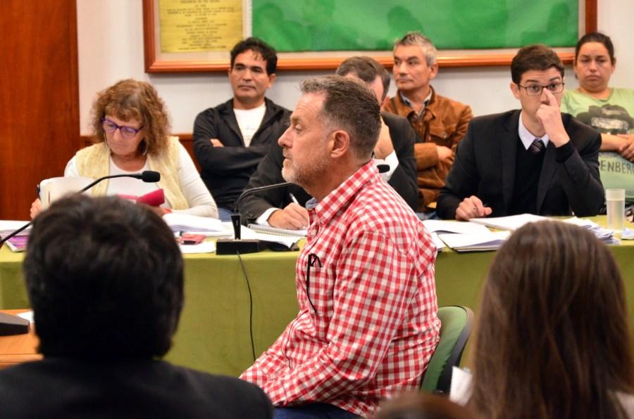 Se cumplió la octava jornada del  juicio por el crimen de Atahualpa Martínez Vinaya. Foto: Marcelo Ochoa