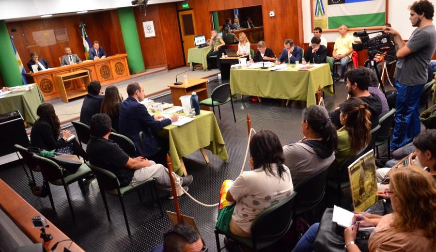 Alegatos en la causa por el crimen de Atahualpa. Foto: Marcelo Ochoa