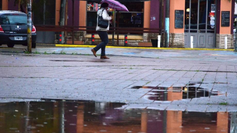Las lluvias fuertes se mantendrán hasta el martes. Foto; Archivo