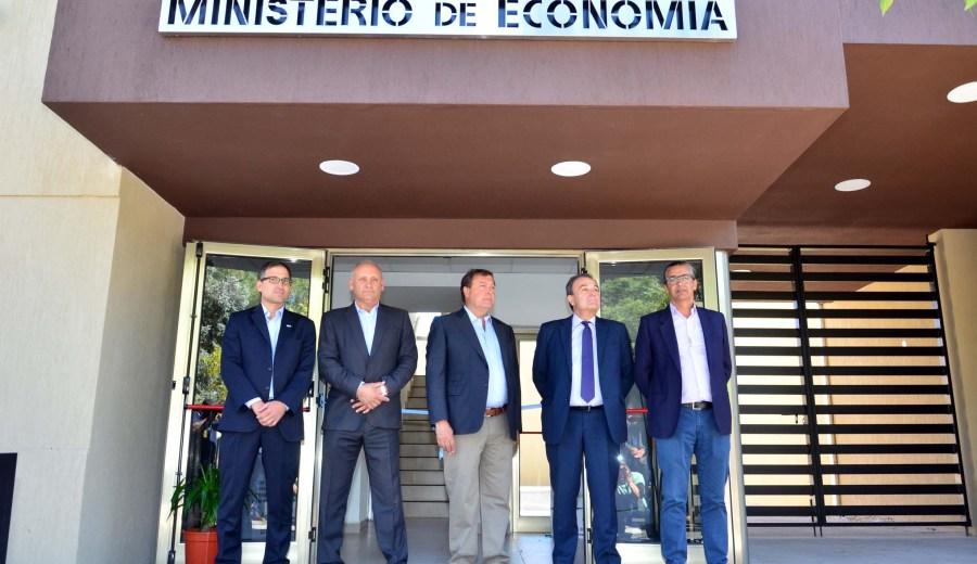 Inauguración de nuevas oficinas para el ministerio de Economía. Foto: Marcelo Ochoa
